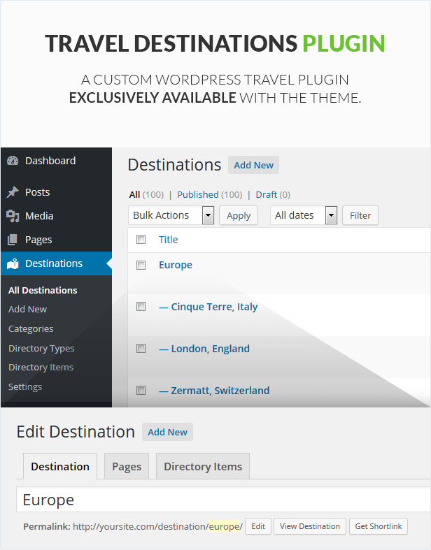 Travel WordPress Theme - GoExplore! - 4