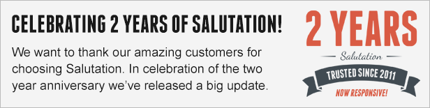 Celebrating 2 Years of Salutation
